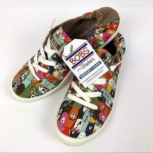 BOBS for Skechers Dog House Party Sneakers 8.5